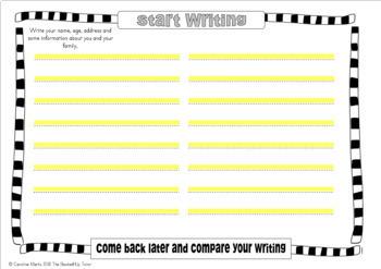 HANDWRITING Workbook OLDER CHILDREN & TEENS 30 worksheets + tips No Prep
