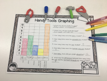 HANDY TOOLS GRAPHING task or assessment STATISTICS  digital technology