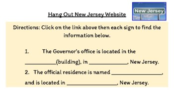 HANG OUT in NEW JERSEY