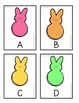Write the room Easter April LETTER GAME ABC edition