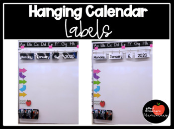 HANGING CALENDAR- Say Goodbye to Writing the Date!