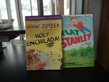 HANK ZIPZER    FLAT STANLEY   (SET OF 2)