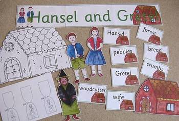 HANSEL AND GRETEL book study activity pack