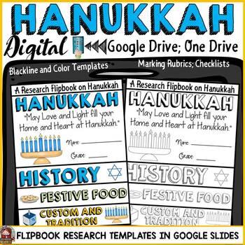 HANUKKAH: DIGITAL RESEARCH REPORT FLIPBOOK: GOOGLE DRIVE: GOOGLE CLASSROOM
