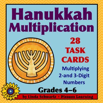 HANUKKAH MULTIPLICATION • GRADES 4–6