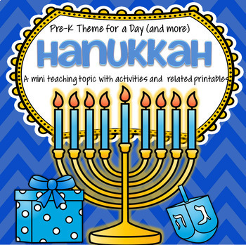HANUKKAH Centers and Activities for Preschool and Pre-K