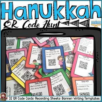 HANUKKAH: HISTORY AND TRADITION: QR CODE HUNT