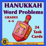 HANUKKAH WORD PROBLEMS for MATH • Grades 4–6