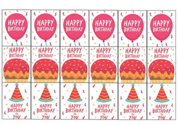 HAPPY BIRTHDAY BRAG TAG