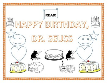 HAPPY BIRTHDAY, DR. SEUSS! COLORING PAGE by HOUSE OF KNOWLEDGE AND ...