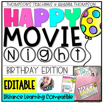 STUDENT BIRTHDAY GIFT TAGS By Thompsons Teachings