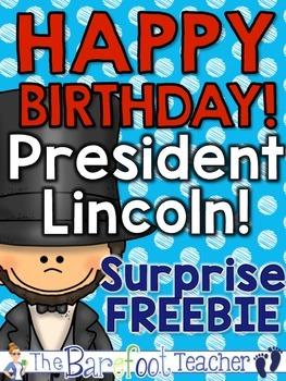 Presidents Day FREEBIE Surprise!