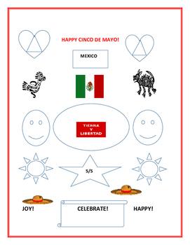 HAPPY CINCO DE MAYO- COLORING PAGE #3