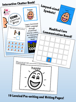 HAPPY: Complete Core Word Activity Set