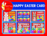 HAPPY EASTER CARD POSTER