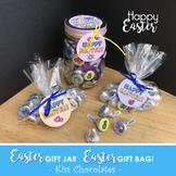 HAPPY EASTER Jar Gift - Chocolate Kiss Jar - PDF file - In
