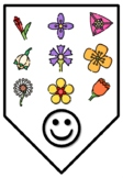 HAPPY ELEVENTH GRADERS!, Spring Bulletin Board Letters, Pennants, Banner,