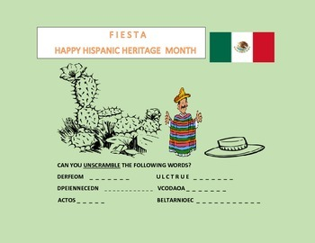 HAPPY HISPANIC HERITAGE MONTH-FIESTA~