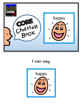 HAPPY: Interactive CORE City Chatter Book