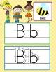 HAPPY KIDz - Alphabet Cards, Handwriting, ABC Flash Cards, illustrated