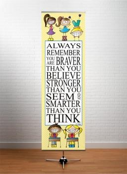HAPPY KIDz - Classroom Decor: X-LARGE BANNER, Always Remember