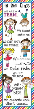HAPPY KIDz - Classroom Decor: X-LARGE BANNER, In Our Class...