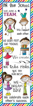 HAPPY KIDz - Classroom Decor: X-LARGE BANNER, In Our School...