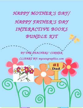 Mother's Day / Father's Day: Interactive Books Bundle Kit
