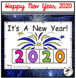 HAPPY NEW YEAR 2020 INTERACTIVE EMERGENT READER WITH 9 ACTIVITIES
