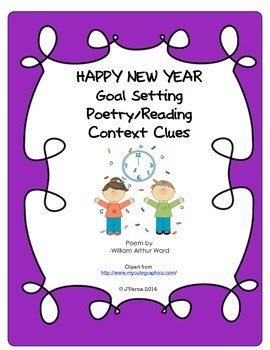 HAPPY NEW YEAR Goal Setting/Poetry Packet