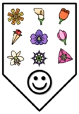 HAPPY SIXTH GRADERS!, Spring Bulletin Board Letters, Pennants, Banner, Bunting