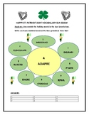 ST. PATRICK'S DAY: UNSCRAMBLE THE VOCABULARY IN THE SUN GRAM!