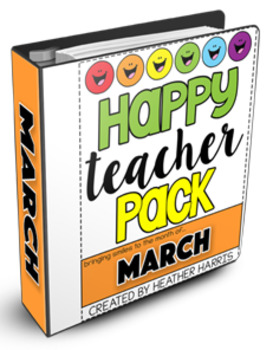 HAPPY TEACHER PACK: MARCH