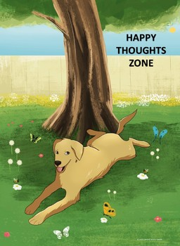 HAPPY THOUGHTS ZONE POSTER