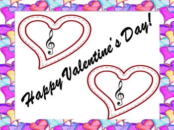 HAPPY VALENTINE'S DAY SIGN (MUSIC)