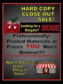 """Professionally-Printed Hard Copies That Save YOU Big Bucks!!!"""