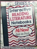 HARD COPY Interactive Reading Literature Notebooks 2 ALL NEW Add-on Pack