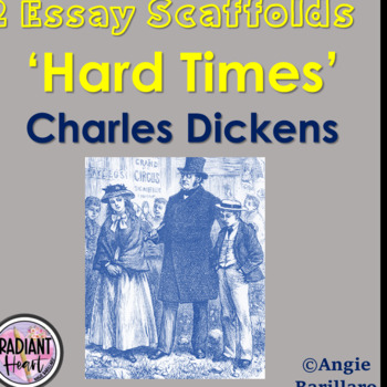 charles dickens hard times teaching resources teachers pay teachers  hard times charles dickens two essay scaffolds outline plans