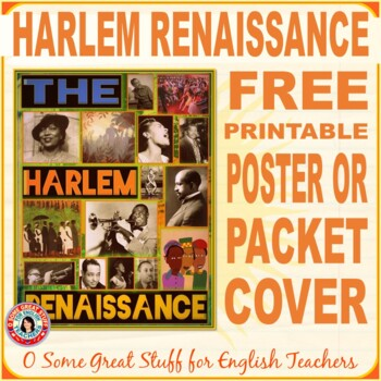 HARLEM RENAISSANCE FREE POSTER by O Some Great Stuff for
