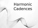 HARMONIC CADENCES POWERPOINT