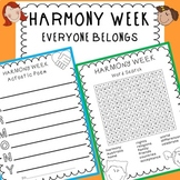 HARMONY WEEK/DAY