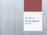HARPER LEE / TO KILL A MOCKINGBIRD / BACKGROUND INFO / PP