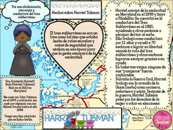HARRIET TUBMAN THE UNDERGROUND RAILROAD IN SPANISH