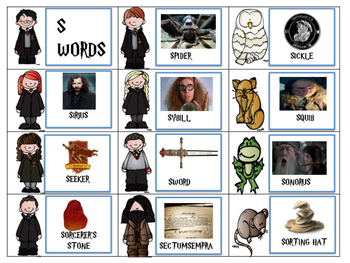 HARRY POTTER ARTICULATION GAME FOR SPEECH THERAPY