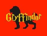 HARRY POTTER Gryffindor Printable