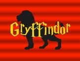 HARRY POTTER Gryffindor Printable [With Shading]