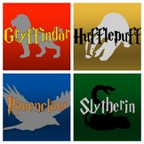 HARRY POTTER House Banner Printables [With Shading]