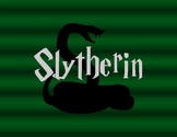 HARRY POTTER Slytherin Printable [With Shading]