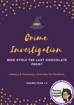 HARRY POTTER Themed Literacy & Numeracy Problem Solving - Grade 1-2