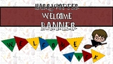 HARRY POTTER WELCOME BANNER/BULLETIN BOARD BANNER/CLASSROO